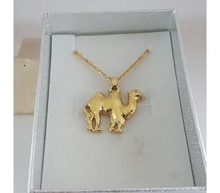 שרשרת גולדפילד זהב 24 קראט גמל