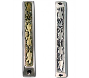 mezuzah three stars of david