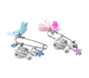 Pin Stroller Baby,design hamsa