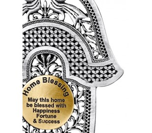 Home Blessing Hamsa birds of paradise