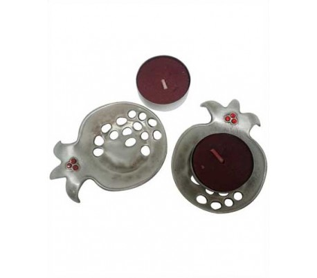 Pomegranate Candlesticks