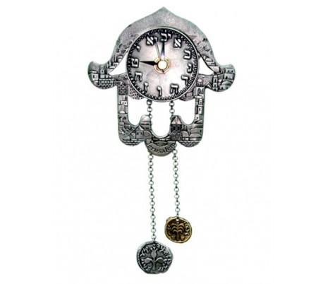 Clock  Hamsa  jerusalem
