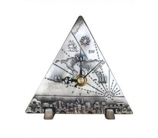 Triangular Globe Clock