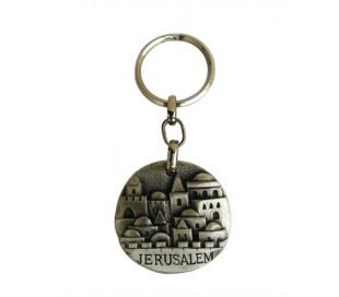 מחזיק מפתחות בעיצוב ירושלים