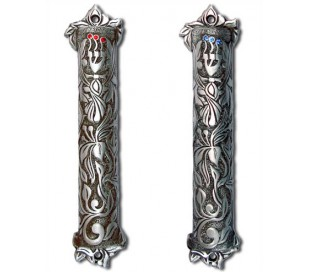 Mezuzah flower design
