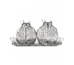 Pomegranate design Candlesticks