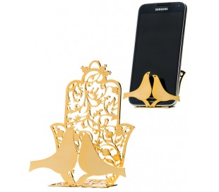 Stand Hamsa and pair of doves