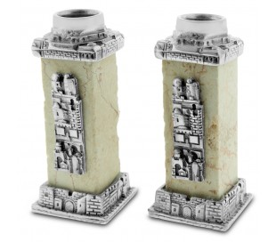 Jerusalem candlesticks