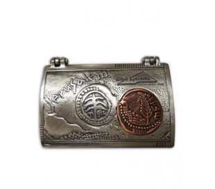 Business card Case with Antique Coin