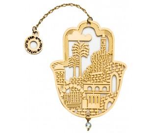 Hamsa Jerusalem design